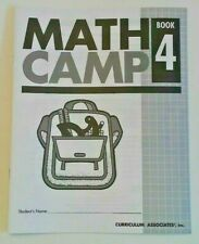 Math Camp! Problem Solving Test Prep Basic Skills Critical Thinking 4th Grade 4+
