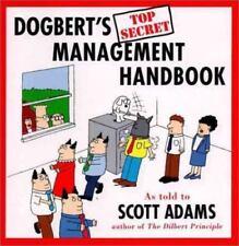Dogbert's Top Secret Management Handbook by Scott Adams (1996, Hardcover)