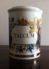 "Old Fornasetti ""Talcum"" jar vase 9"".5 tall"
