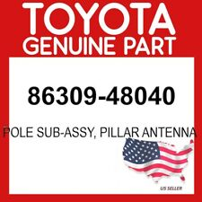 TOYOTA GENUINE 86309-48040 POLE SUB-ASSY, PILLAR ANTENNA OEM