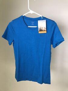 ICEBREAKER 100% Merino Wool Women's Tech 200 T-shirt Crew - Cruise -Small - NEW!