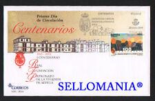 2014 CENTENARIO PATRONATO DE LA VIVIENDA DE SEVILLA EDIFIL 4853 SPD FDC  TC20649