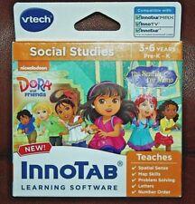 Innotab Vtech Educational Learning Software Dora the Explorer Social Studies New
