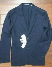 Lacoste VH9581 $395 Men's Regular Fit Navy Stretch Wool Blazer Sport Coat L 52