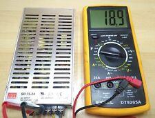 MeanWell 24V 3A MW SP75-24 Schalt Netzteil DCTrafo power supply driver PSU 3D DY