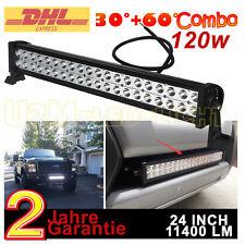 120w LED Balken Arbeitsscheinwerfer Offroad PKW Auto Work light bar Lichtleisten