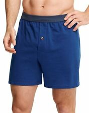 Hanes Men's 5-pack Assorted Tagless Comfort Soft Boxers Solid Knits X-Large