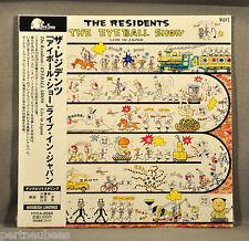 RESIDENTS (THE) Eyeball Show JAPAN '11 LIVE Ltd Mini LPCD +9 Insert OBI HYCA2050