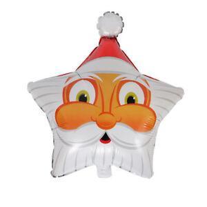 Happy Christmas Party Foil Balloons High Quality Christmas Pentagonal star