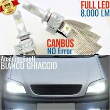 Kit Lampade Luci FULL LED OPEL ZAFIRA A Tourer 1.9 H7 6500K CANBUS fari tuning