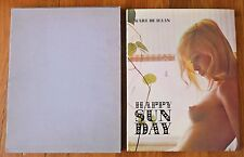 KARL DE HAAN HAPPY SUN DAY - 1969 1ST EDITION & 1ST PRINT IN RARE SLIPCASE FINE