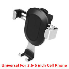 Universal Car Air Vent Outlet Mount Gravity Phone Holder For 3.6-6Inch Phone GPS