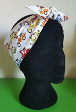 Scooters mod 70s 50s pin up head scarf hair wrap vintage hair 40s motorcycle