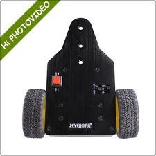 Motorized Camera Slider Video Dolly Cart For DSLR Cameras Gopro BMPCC