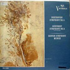 Charles Munch - Beethoven Symphony No 5 LP VG+ Vic 1035 Mono 1963 USA