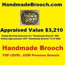 Handmadebroochcom Top Level Premium Domain Handmade Brooch Google Pagerank 1