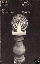 Granin, Daniil; Der Namensvetter, Novelle, 1977 - Spektrum