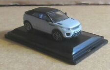 OXFORD DIECAST RANGE ROVER EVOQUE CONVERTABLE BALTORO ICE BLUE 1:76 SCALE  CAR