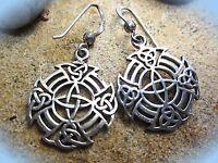 tolle Ohrgehänge Wikinger Schilde aus Bronze Mittelalter Ohrhänger Schutzschild