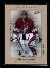 CURTIS JOSEPH 2005/06 UD BEE HIVE #69 MATTE FRAMED PARALLEL #080/100 AB7707