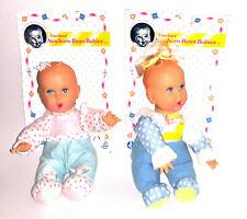 1997 Toy Biz Gerber Newborn Bean Babies Dolls Lot Of 2 Nos 9 Inch