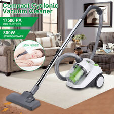 800W Powerful Bagless Vacuum Cleaner 2.2L Compact Cyclonic Cylinder Hoover 3in1