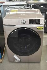 """Samsung Wf45R6100Ac 27"""" Champagne Front-Load Washer #104294"""