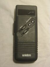 * not tested Uniden Er-100 mobile handheld radio emergency unit