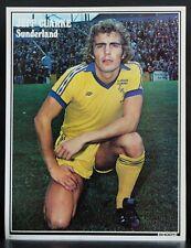 FOOTBALL PLAYER PICTURE JEFF CLARKE SUNDERLAND SHOOT