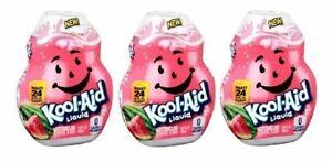 Kool-Aid Watermelon Flavor Enhancer Liquid Drink Mix 3 Bottle Pack