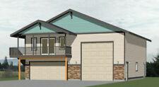 40x40 Apartment with 2-Car 1-RV Garage - PDF FloorPlan - 964 sqft - Model 1