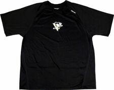 Pittsburgh Penguins Reebok Nhl Center Ice Speedwick Black T-Shirt