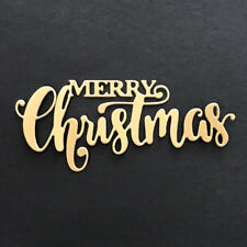 Merry Christmas Design Metal Cutting Dies For Scrapbooking Card Paper Album PHC