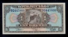 HAITI  1  GOURDE  L. 1919  PICK # 178  AU-UNC