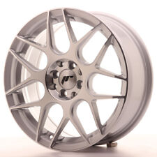 Japan Racing JR18 Alloy Wheel 17x7 - 4x114.3 / 4x100 - ET40 - Silver Machined
