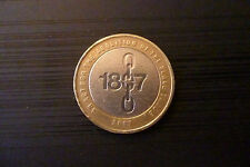 Rare 1807 Abolition Of Slave Trade £2 coin with Misprint