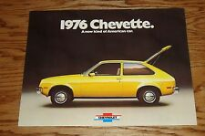 Original 1976 Chevrolet Chevette Sales Brochure 76 Chevy Sport Rally Woody