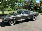1968 Ford Mustang  1968 Ford Mustang Fastback restoration with 347 / 415 hp engine in Charcoal gray