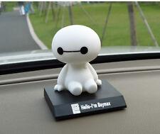 New BIG HERO 6 BAYMAX Collections Dolls Bobblehead Toys Car Adornment