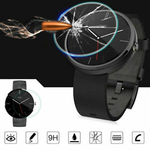 For Motorola Moto 360 Tempered Glass Screen Protector Guard Ultra Clear