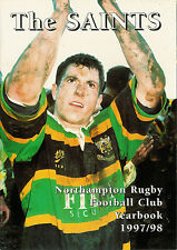 THE SAINTS NORTHAMPTON RUGBY FOOTBALL CLUB YEARBOOK 1997/98