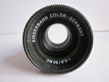 Kindermann Color MC 90mm F2.8 Projection Black lens.Made in Germany.