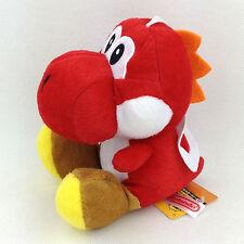 Nintendo Super Mario Series 6in Red Yoshi Plush Doll