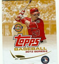 2013 Topps Baseball Series 1, 2, and Update complete your set you pick 10 cards