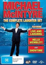 Michael McIntyre: The Complete Laughter Set NEW R4 DVD