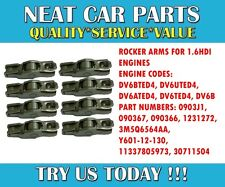 ROCKER ARMS X 8 FOR FORD C MAX 1.6 TDCI 2007 > ONWARDS MPV 1231272