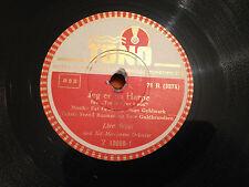 """LIVA WEEL """"Jeg Er En Harpe""""/""""Det Er Een Af De Gutter"""" 78rpm DANISH 10"""" c1951 EX+"""
