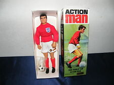 "ACTION MAN 1966 WORLD CUP FIGURE 12""  OVP LIMITED EDITION OF 1000 VON 1996 MIB"