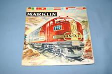 Marklin Katalogue 1961-62 NL