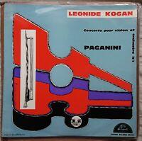 Leonid Kogan Plays Paganini - Violin Concerto No. 1, 1958, ED1, Disques Acropole